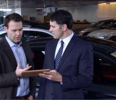 MOBILE APP to receive vehicles at the Dealerships